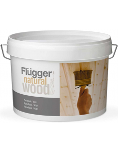 Flugger Natural Wood Panel Lacquer 0,75л полуматовый панельный лак для дерева