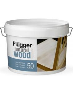 Flugger Natural Wood Lacquer 20 3л полуматовый мебельный лак для дерева