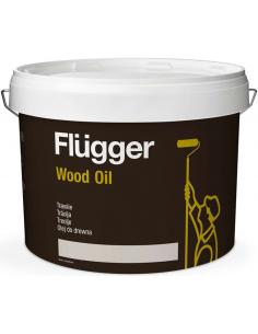 Flugger Wood Oil Aqua 2,8л масло по дереву для наружных работ
