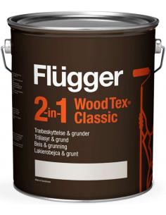 Flugger 2 in 1 Classic 4,9л лессирующая пропитка для дерева