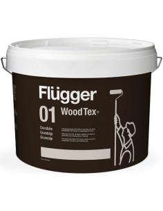 Flugger 01 Wood Tex Priming Oil (Grundolie) 3л масло-грунт для дерева