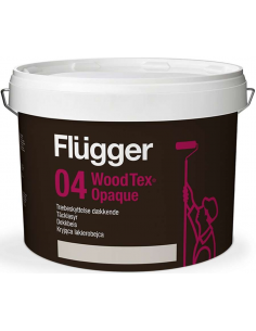Flugger Wood Tex Opaque (Tacklasyr) 9,1л краска для деревянных фасадов