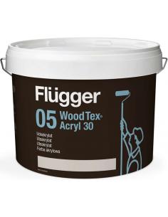 Flugger Wood Tex Akrylmaling 2,8л краска для деревянных фасадов