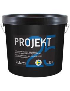 Colorex Projekt 25 краска для стен и потолка в сырых помещениях 0,9л