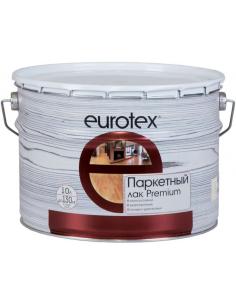 EUROTEX Premium полуматовый паркетный лак 10л