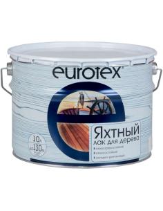 EUROTEX Premium полуматовый яхтный лак 10л