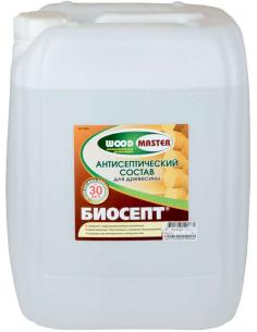 WOODMASTER Биосепт пропиточный антисептик для дерева 20л