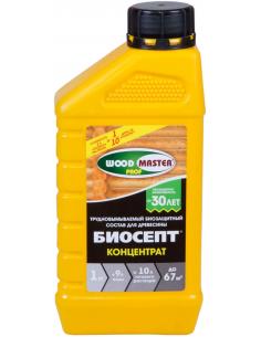 WOODMASTER-PROF Биосепт-концентрат пропиточный антисептик для дерева 1кг