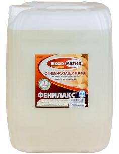 WOODMASTER Фенилакс огнебиозащитный состав для древесины 25кг