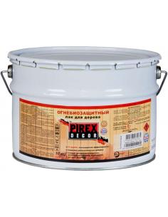 PIREX Decor огнебиозащитный полуматовый лак для дерева 10кг