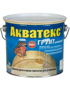 Акватекс грунт-антисептик для дерева 3л