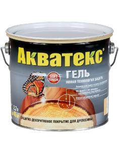 Акватекс Гель защитно-декоративное тиксотропное покрытие для дерева 2,7л