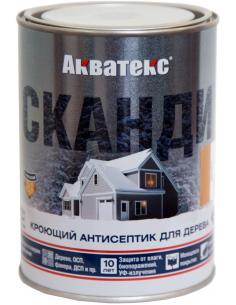 Акватекс Сканди кроющий антисептик для дерева 0,75л