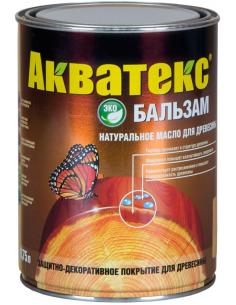 Акватекс Бальзам натуральное масло для дерева 0,75л