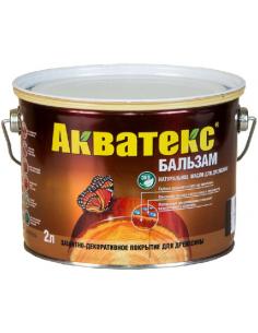 Акватекс Бальзам натуральное масло для дерева 2л