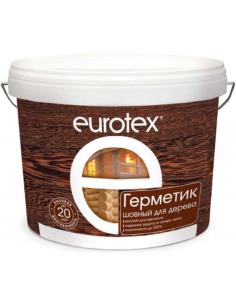EUROTEX герметик акриловый шовный для дерева 3кг
