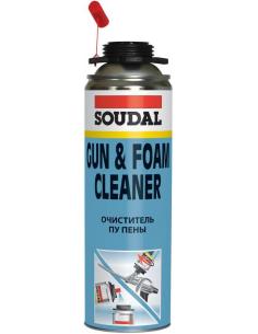 Soudal Gun & Foam Cleaner очиститель полиуретановой монтажной пены 500мл