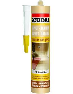 Soudal Паркетный акриловый герметик Дуб