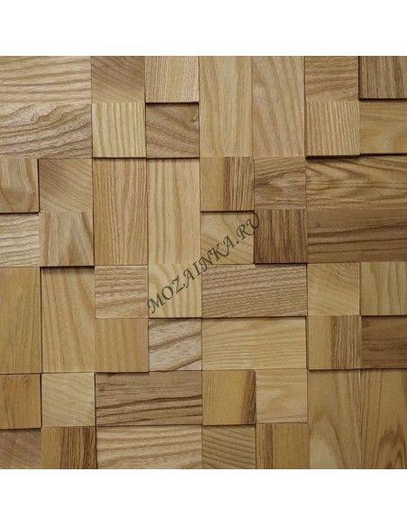 Кантри Ясень деревянная 3Д мозаика, покрыта маслом Borma