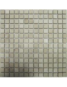 Crema Nova Tumbled 20 каменная мозаика