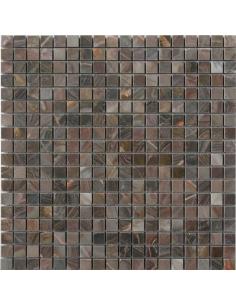 Louis Red Polished каменная мозаика