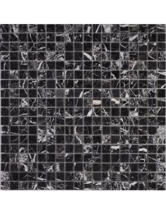 Nero Marquina Polished каменная мозаика