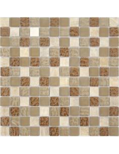Caramelle Amber мозаика из камня и стекла