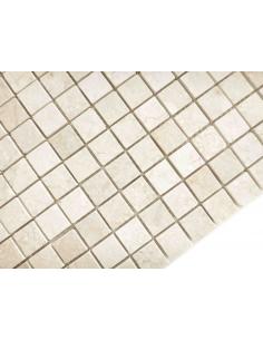 Botticino Mat 15x15 4мм каменная мозаика