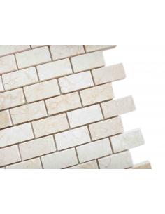 Botticino Pol 23x48 4мм каменная мозаика