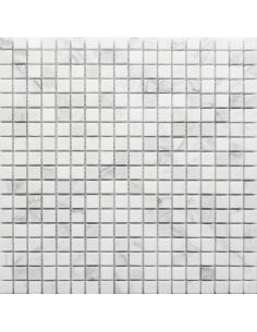 Dolomiti Bianco Pol 15x15 4мм каменная мозаика