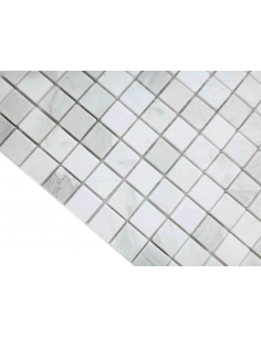 Dolomiti Bianco Mat 23x23 4мм каменная мозаика