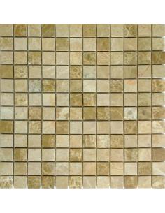 Emperador Light Mat 23x23 4мм каменная мозаика