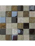 Elements Beige камень и стекло