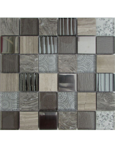 Elements Grey камень и стекло