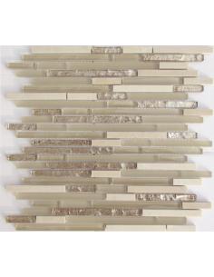 Stripes Cream камень и стекло