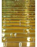 Liya Mirror Stripes Gold мозаика зеркальная