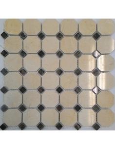 Каменная мозаика M025+M052-BP