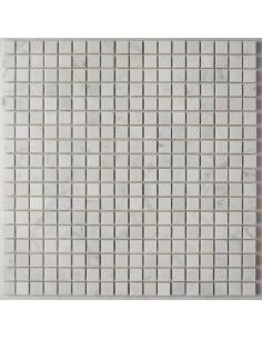 Orro Bianco Carrara Pol 15x15 4мм каменная мозаика