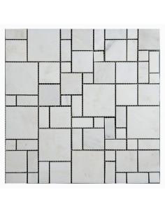Orro Bianco Carrara Random каменная мозаика