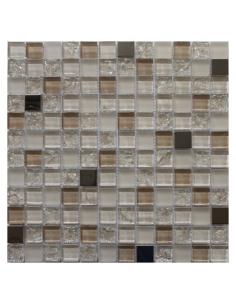 Jasmin Orro мозаика из стекла и металла