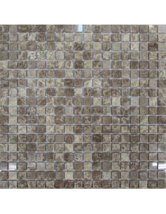 Каменная мозаика Emperador Light 15-4P