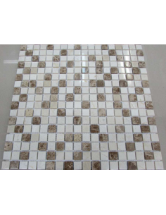 Каменная мозаика Mix Cream 15-4P