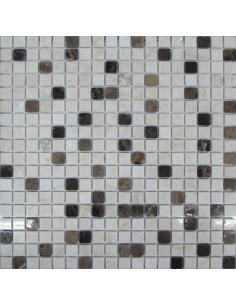 Каменная мозаика Mix Coffee 15-4P