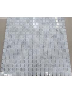 Каменная мозаика Bianco Carrara 15-4P