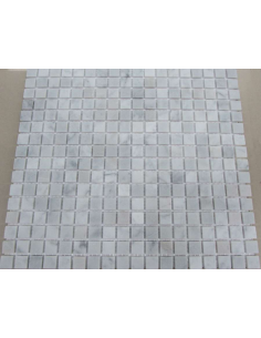 Каменная мозаика Bianco Carrara 15-4T