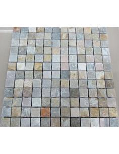 Мозаика из сланца Slate Grey 23