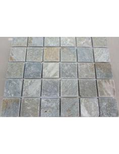 Мозаика из сланца Slate Grey 48