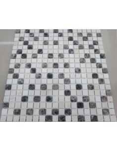 Каменная мозаика Mix Coffee 15-4T