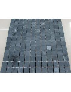 Мозаика из сланца Slate Black 23