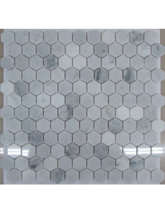 Hexagon Bianco Carrara